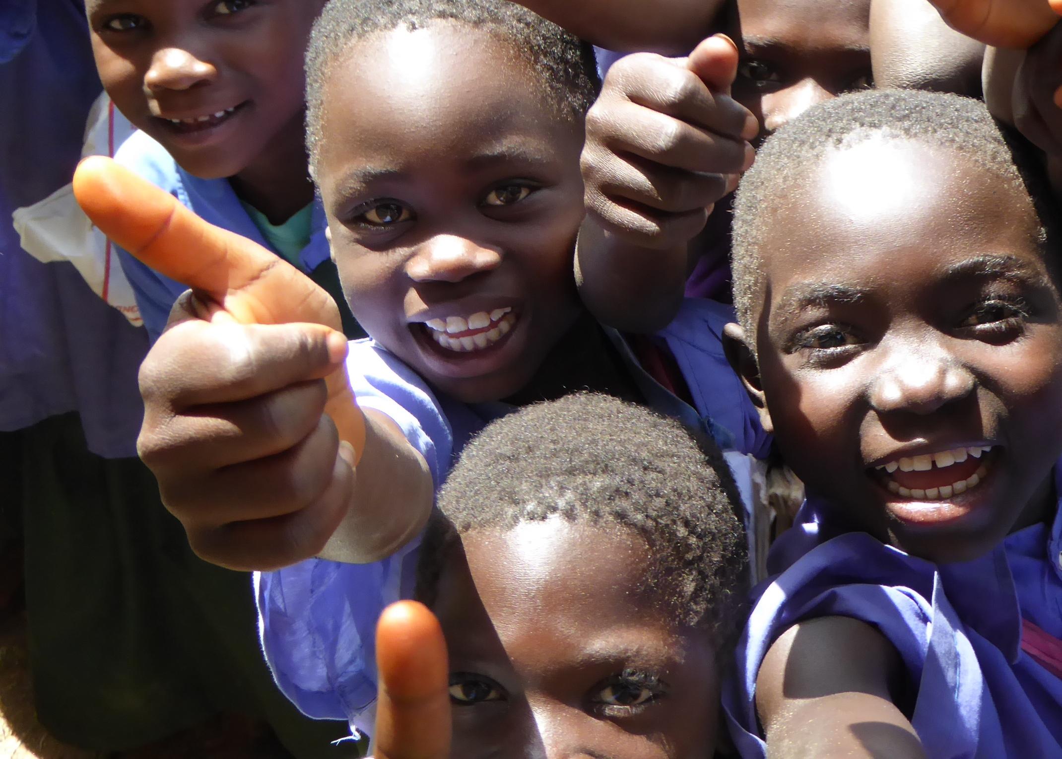 School children in CLFZ West Nile.jpg
